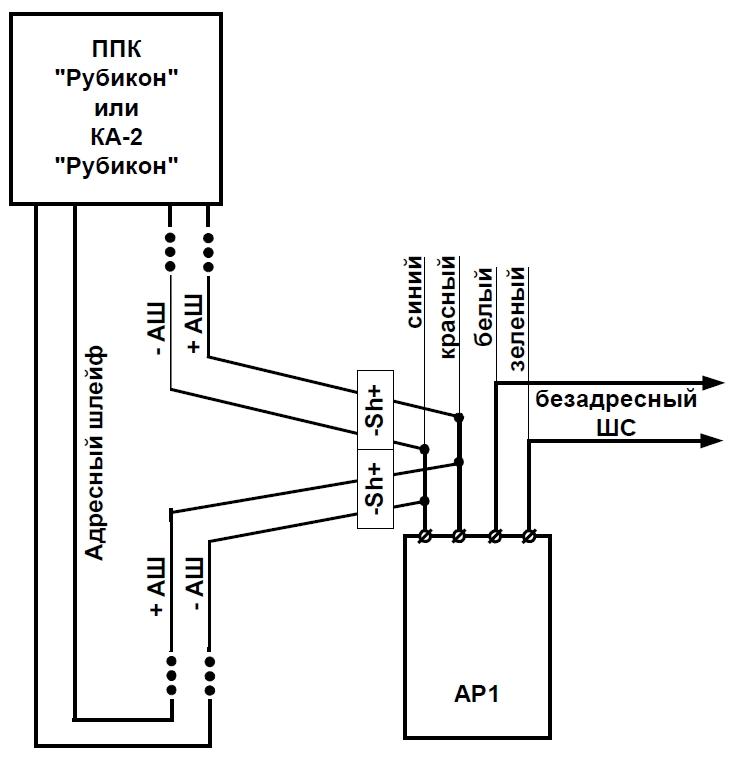 АР1 - адресный расширитель на